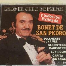CDs de Música: BONET DE SAN PEDRO / BAJO EL CIELO DE PALMA / CD - PERFIL / 15 TEMAS / PRECINTADO A ESTRENAR.. Lote 215824551