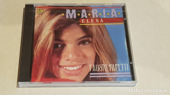 FAUSTO PAPETTI / MARIA ELENA / CD - KUBANEY / 16 TEMAS / PRECINTADO A ESTRENAR. (Música - CD's Melódica )