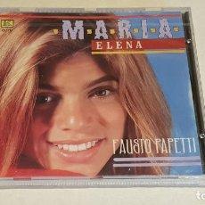 CDs de Música: FAUSTO PAPETTI / MARIA ELENA / CD - KUBANEY / 16 TEMAS / PRECINTADO A ESTRENAR.. Lote 215825453