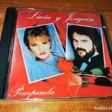CDs de Música: PIMPINELA LUCIA Y JOAQUIN PRIMERA EDICION CD ALBUM 1985 FRANCIA DUO DYANGO 10 TEMAS MUY RARO. Lote 215830701