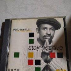 CDs de Música: PATO BANTON & THE REGGAE REVOLUTION ?– STAY POSITIVE. Lote 215831773