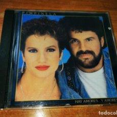 CDs de Música: PIMPINELA HAY AMORES Y AMORES PRIMERA EDICION CD ALBUM 1989 ESPAÑA 9 TEMAS MUY RARO. Lote 215832117