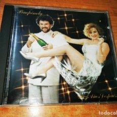 CDs de Música: PIMPINELA DIEZ AÑOS DESPUES PRIMERA EDICION CD ALBUM 1991 ESPAÑA 10 TEMAS MUY RARO. Lote 215832541