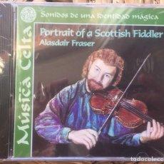CDs de Música: ALASDAIR FRASER - PORTRAIT OF A SCOTTISH FIDLER - CD CULBURNIE RECORDS RBA 1999 PRECINTADO. Lote 215850293