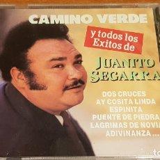 CDs de Música: JUANITO SEGARRA / CAMINO VERDE Y TODOS LOS ÉXITOS / CD / DIVUCSA - 1990 / PRECINTADO A ESTRENAR.. Lote 215869926