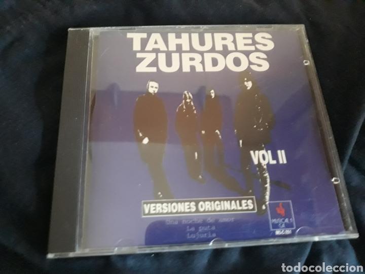CD TAHURES ZURDOS VOL. II VERSIONES ORIGINALES (Música - CD's Rock)