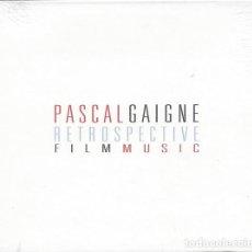 CDs de Musique: RETROSPECTIVE FILM MUSIC / PASCAL GAIGNE. Lote 215927035