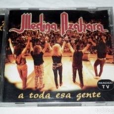 CDs de Música: DOBLE CD MEDINA AZAHARA - A TODA ESA GENTE. Lote 215929175