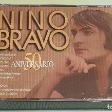 CDs de Música: NINO BRAVO / 50 ANIVERSARIO / DOBLE CD - POLYDOR-1995 / 30 TEMAS / MUY BUENA CALIDAD.. Lote 215943975