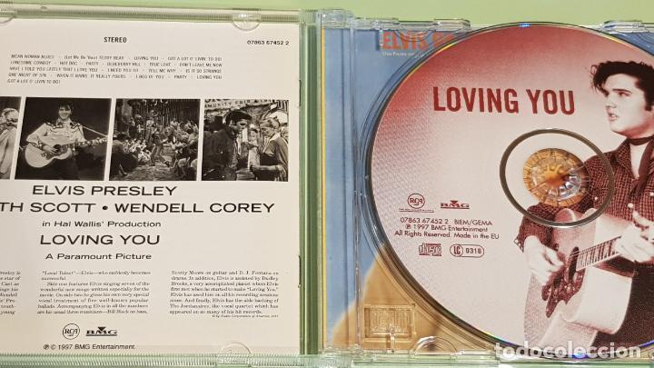CDs de Música: B.S.O. / ELVIS PRESLEY / LOVING YOU / B.S.O. / CD - RCA-BMG-1997 / 20 TEMAS / IMPECABLE. - Foto 2 - 215946880