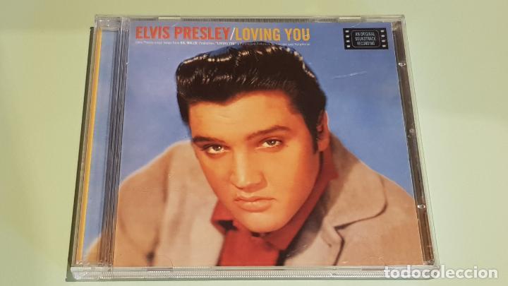 B.S.O. / ELVIS PRESLEY / LOVING YOU / B.S.O. / CD - RCA-BMG-1997 / 20 TEMAS / IMPECABLE. (Música - CD's Bandas Sonoras)