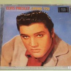 CDs de Música: B.S.O. / ELVIS PRESLEY / LOVING YOU / B.S.O. / CD - RCA-BMG-1997 / 20 TEMAS / IMPECABLE.. Lote 215946880