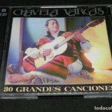 CDs de Música: CD DOBLE - CHAVELA VARGAS - 30 GRANDES CANCIONES - 1993. Lote 215969597