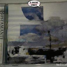 CD de Música: JULIO BUSTAMANTE, LLUVIA CASCABEL, CD 2008, CANTAUTOR VALENCIANO. Lote 215980512
