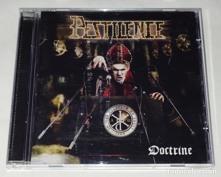CDs de Música: CD PESTILENCE - DOCTRINE - Foto 1 - 215982005