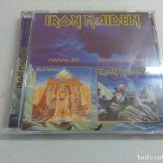 CDs de Música: CD HEAVY METAL/IRON MAIDEN/POWERSLAVE-SINGLE COLLECTION 2.. Lote 215989672