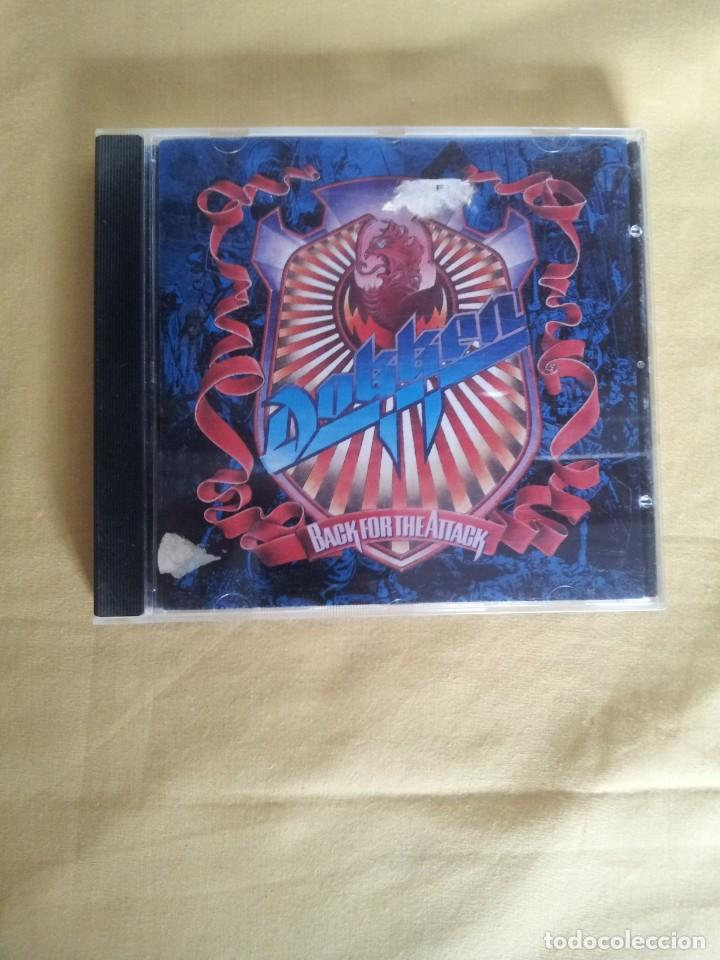 DOKKEN - BACK FOR THE ATTACK - CD, ELEKTRA 1987 (Música - CD's Heavy Metal)