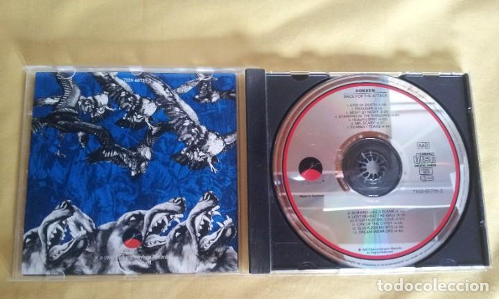 CDs de Música: DOKKEN - BACK FOR THE ATTACK - CD, ELEKTRA 1987 - Foto 3 - 215990512