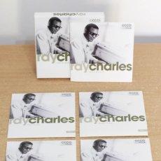 CDs de Música: RAY CHARLES - I GOT A WOMAN - CUATRO CD´S - JAZZ - COMO NUEVO. Lote 216014936