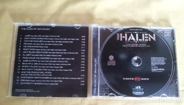 CDs de Música: VAN HALEN - THE MUSIC OF VAN HALEN - CD, PROMO SOUND 2005 - Foto 3 - 216018311