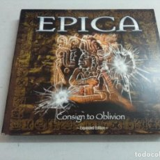 CD de Música: CD HEAVY METAL/EPICA/CONSIGN TO OBLIVION-EXPANDED EDITION/DIGIPACK DOBLE CD.. Lote 216355062