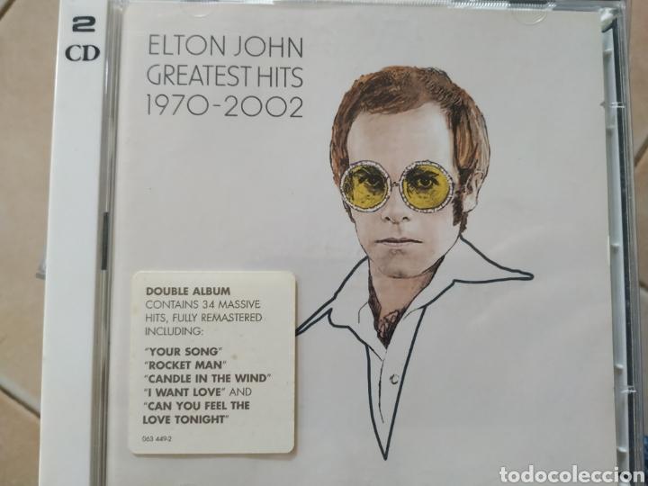 ELTON JOHN GRANDES ÉXITOS 1970-2002 ,2 CDS NUEVO (Música - CD's Otros Estilos)