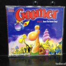 CDs de Música: B.S.O. GOOMER - BLUE 4 U BOOM / RARO CD SINGLE PROMO 2 TRACKS. Lote 216379232