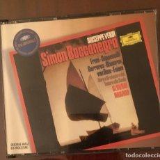 CDs de Música: VERDI - SIMON BOCCANEGRA - CLAUDIO ABBADO - DOBLE CD + DOS LIBRETOS. Lote 216386566