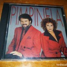 CDs de Música: PIMPINELA PIMPINELA´92 PRIMERA EDICION CD ALBUM DEL AÑO 1992 ESPAÑA CONTIENE 11 TEMAS MUY RARO. Lote 216461020