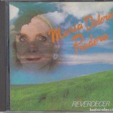CDs de Música: MARÍA DOLORES PRADERA CD REVERDECER 1996 CON PRÓLOGO DE MANUEL VÁZQUEZ MONTALBÁN. Lote 216494641