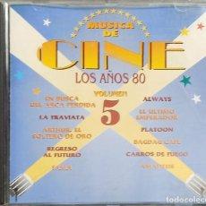 CDs de Música: CD MÚSICA DE CINE VARIADOS DE COLECCIONES Y PUBLICIDAD. Lote 216506318