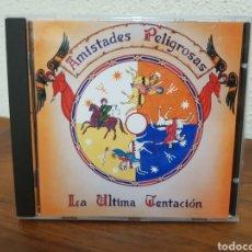 CDs de Música: CD AMISTADES PELIGROSAS LA ÚLTIMA TENTACIÓN. Lote 216510287