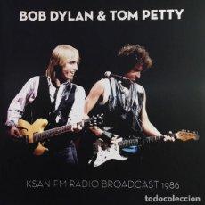 CDs de Música: BOB DYLAN, TOM PETTY – KSAN FM RADIO BROADCAST 1986 CD PRECINTADO. Lote 216545021