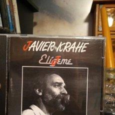 CDs de Música: JAVIER KRAHE - ELIGEME - ELIJEME 1988 CD ALBUM - MUY RARO. Lote 216558102
