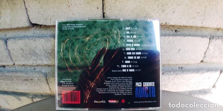 CDs de Música: PACO CIFUENTES-CD ADICTO - Foto 3 - 216572605
