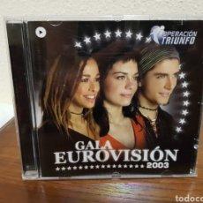 CDs de Música: CD OPERACIÓN TRIUNFO GALA EUROVISIÓN 2003. Lote 216624990