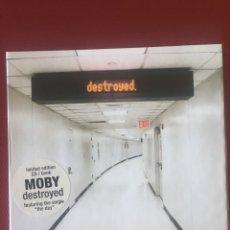 """CDs de Música: DESTROYED- MOBY- EDICIÓN LIMITADA CD LIBRO FEA TURÍN HE THE SINGLE """" THE DAY """".. Lote 216645236"""