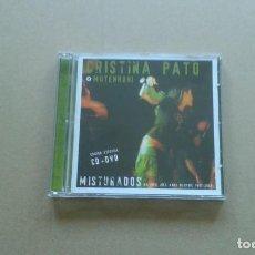 CDs de Música: CRISTINA PATO & MUTENROHI - MISTURADOS CD + DVD 2007. Lote 216679440
