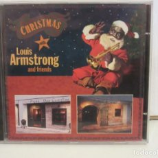 CDs de Música: CHRISTMAS WITH LOUIS ARMSTRONG AND FRIENDS - CD - 1994 - SPAIN - NUEVO. Lote 216695707