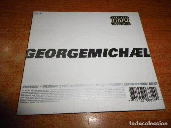 CDs de Música: GEORGE MICHAEL Freeek! REMIXES CD SINGLE DIGIPACK DEL AÑO 2002 EU WHAM CONTIENE 3 TEMAS - Foto 3 - 216724457