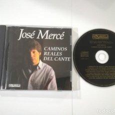 CD de Música: JOSÉ MERCÉ - CAMINOS REALES DEL CANTANTE. Lote 216738243