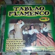 CDs de Música: TABLAO FLAMENCO VOL. 2. VARIOS ARTISTAS. EDICION DE 2002.. Lote 216746213
