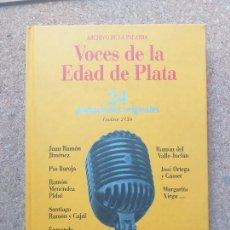 CDs de Música: VOCES DE LA EDAD DE PLATA. 24 GRABACIONES ORIGINALES. CONTIENE 2 DISCOS. 1898-1936. Lote 216757046