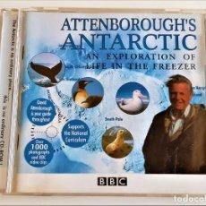 CDs de Música: CD ATTENBOROUGH'S ANTARCTIC. Lote 216777057