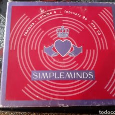 CDs de Música: SIMPLE MINDS. THEMES VOLUME 4. FEB 89- MAY 90. 5CDS.. Lote 216803168