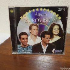 CDs de Música: CD ÁLBUM EUROVISIÓN 2004 OPERACIÓN TRIUNFO. Lote 216821593