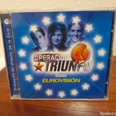 CDs de Música: CD OPERACIÓN TRIUNFO GALA EUROVISIÓN. Lote 216821852