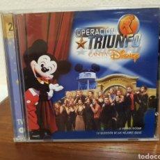 CDs de Música: CD OPERACIÓN TRIUNFO CANTA DISNEY 2CDS. Lote 216822011