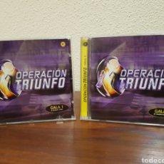 """CDs de Música: CD OPERACIÓN TRIUNFO GALAS 0 Y 1 """"AÑO 2003"""". Lote 216822340"""