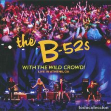 CDs de Música: THE B-52S – WITH THE WILD CROWD! (LIVE IN ATHENS, GA) - CD. Lote 216850980